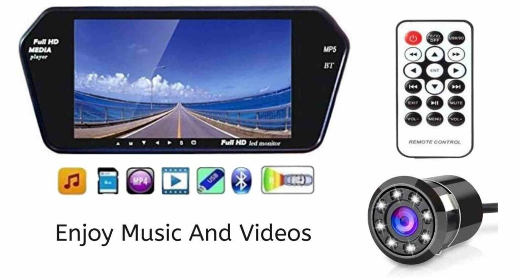 reverse parking camera with screen